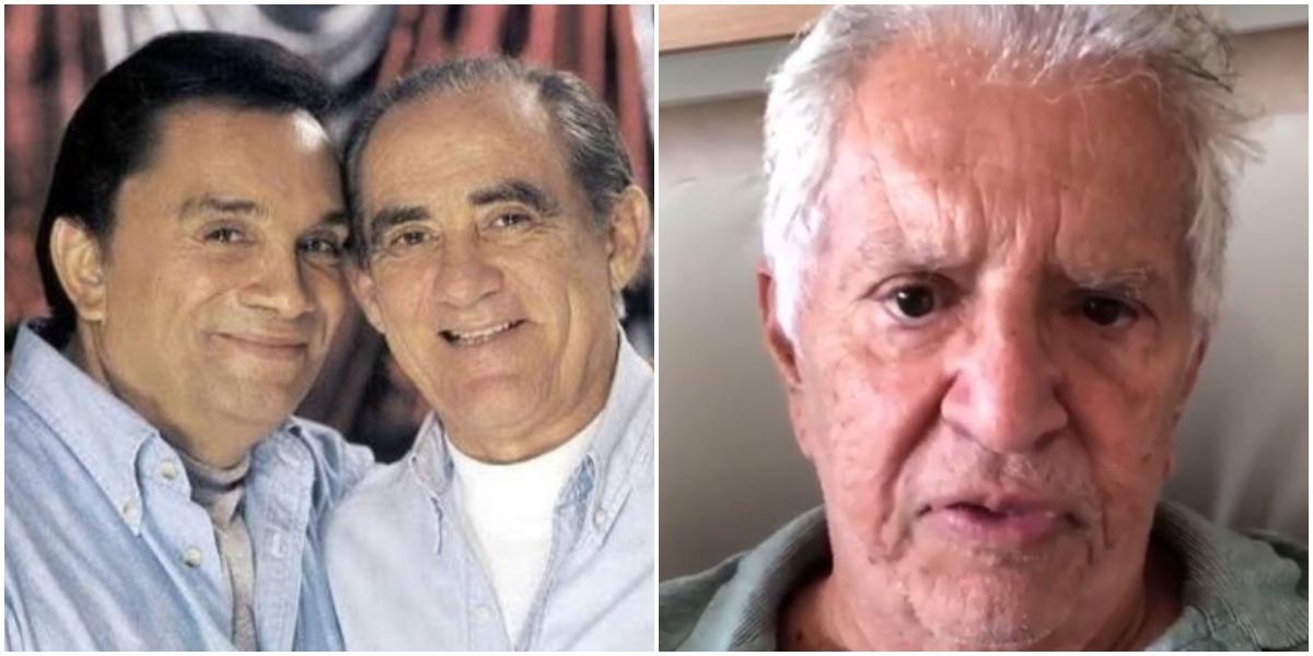 Renato Aragão, Dedé Santana e Carlos Alberto (Foto: Reprodução)