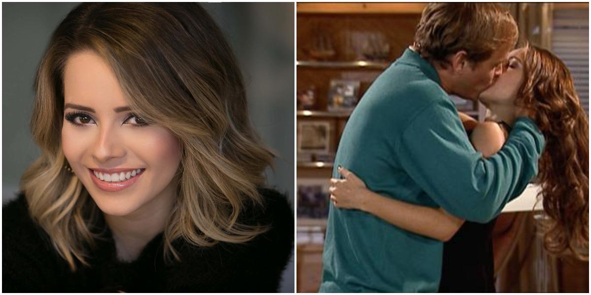 Guilherme Fontes e Sandy atuaram juntos em novela da Globo (Foto: Reprodução)