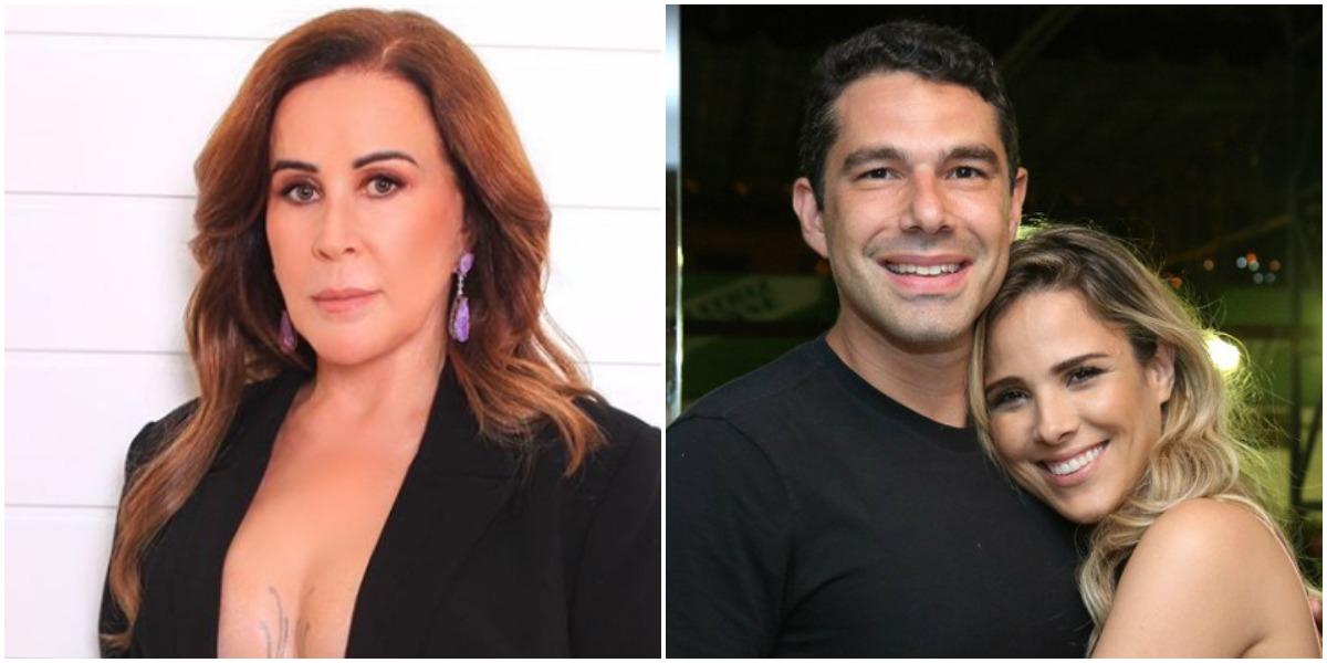 Zilu Godói resolveu expor o marido de Wanessa, o empresário Marcus Buaiz (Foto: Reprodução/ Montagem)
