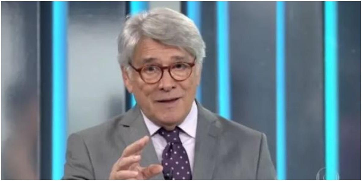 Sérgio Chapelin surge irreconhecível na Globo e espanta telespectadores – TV Foco