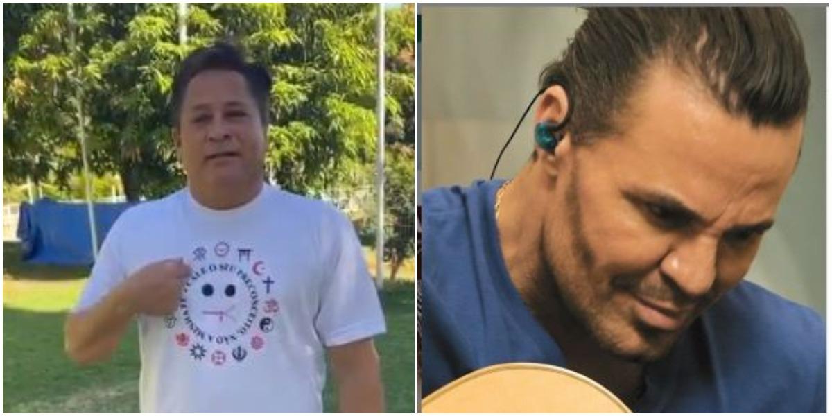 Leonardo e Eduardo Costa (Foto: Reprodução)