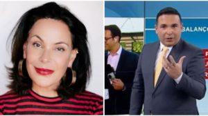 Carolina Ferraz e Reinaldo Gottino (Foto: Reprodução)