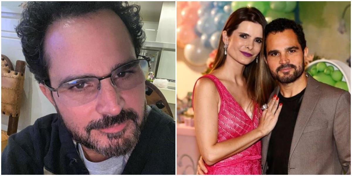 Luciano Camargo e Flavia (Foto: Reprodução)