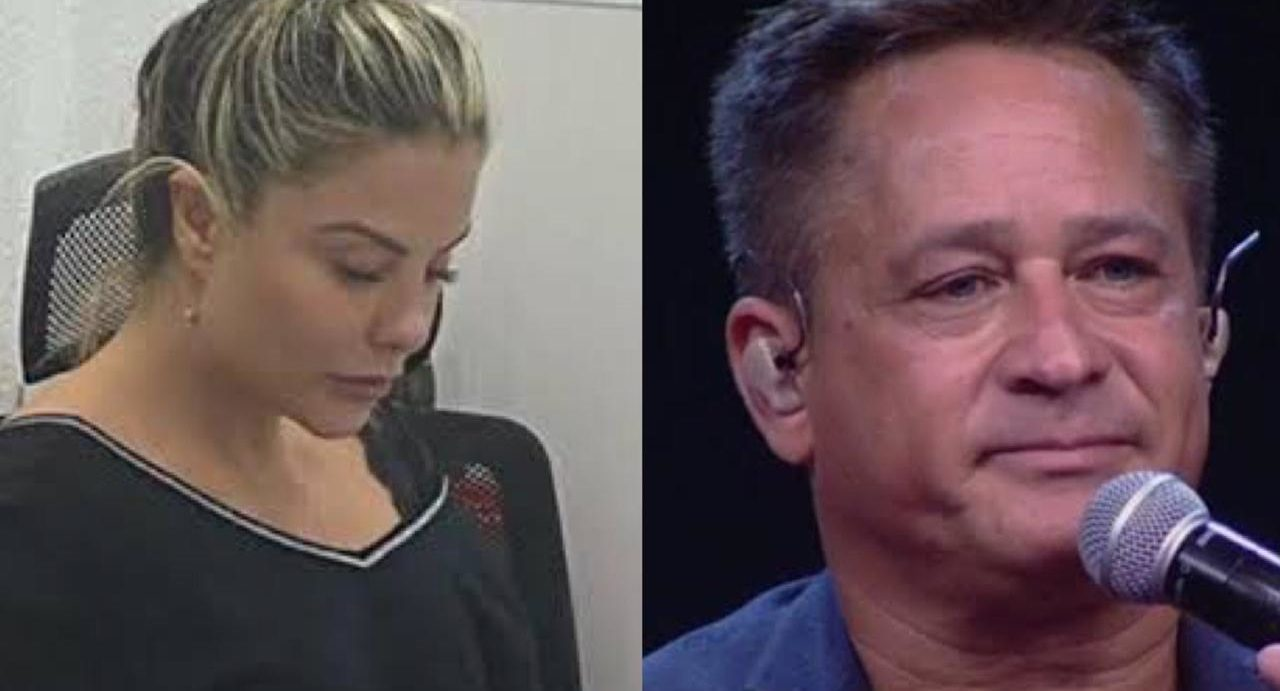 Poliana Rcoha, esposa de Leonardo, confirmou notícia aos fãs (Foto: Reprodução/ Montagem)