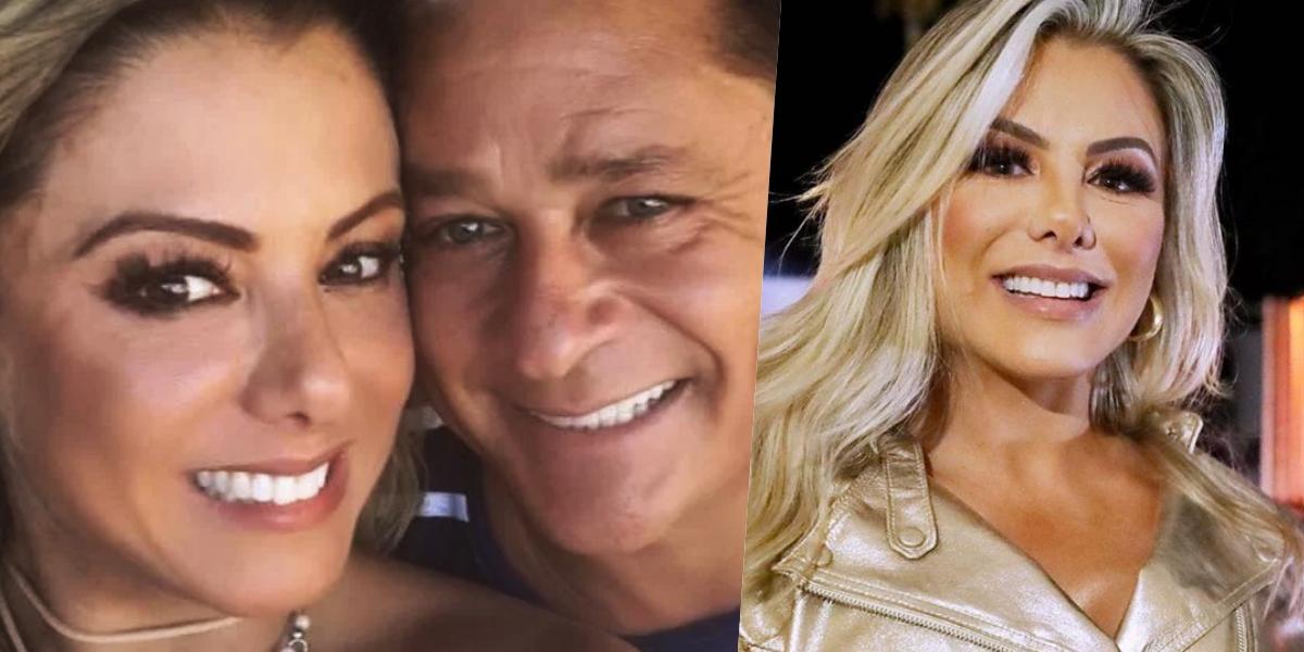 Poliana Rocha é casada com Leonardo (Foto montagem: TV Foco)