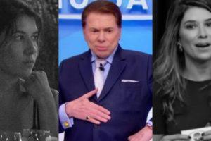 Rebeca Abravanel surgiu em registro muito antigo falando sobre Silvio Santos (Foto: Reprodução/SBT/AgNews)