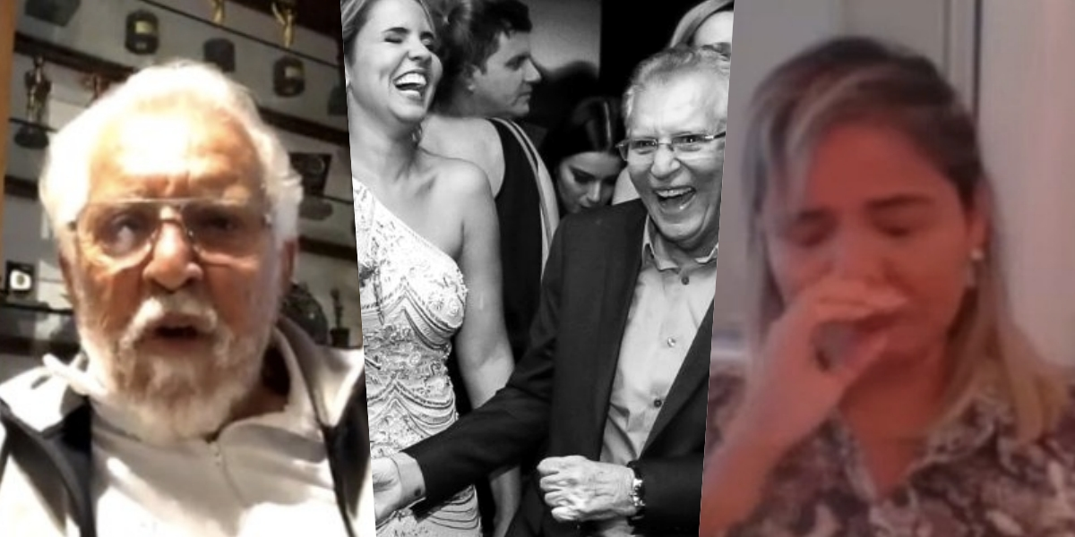Renata Domingues, esposa de Carlos Alberto, está sofrendo com a dor da perda (Foto montagem: TV Foco)
