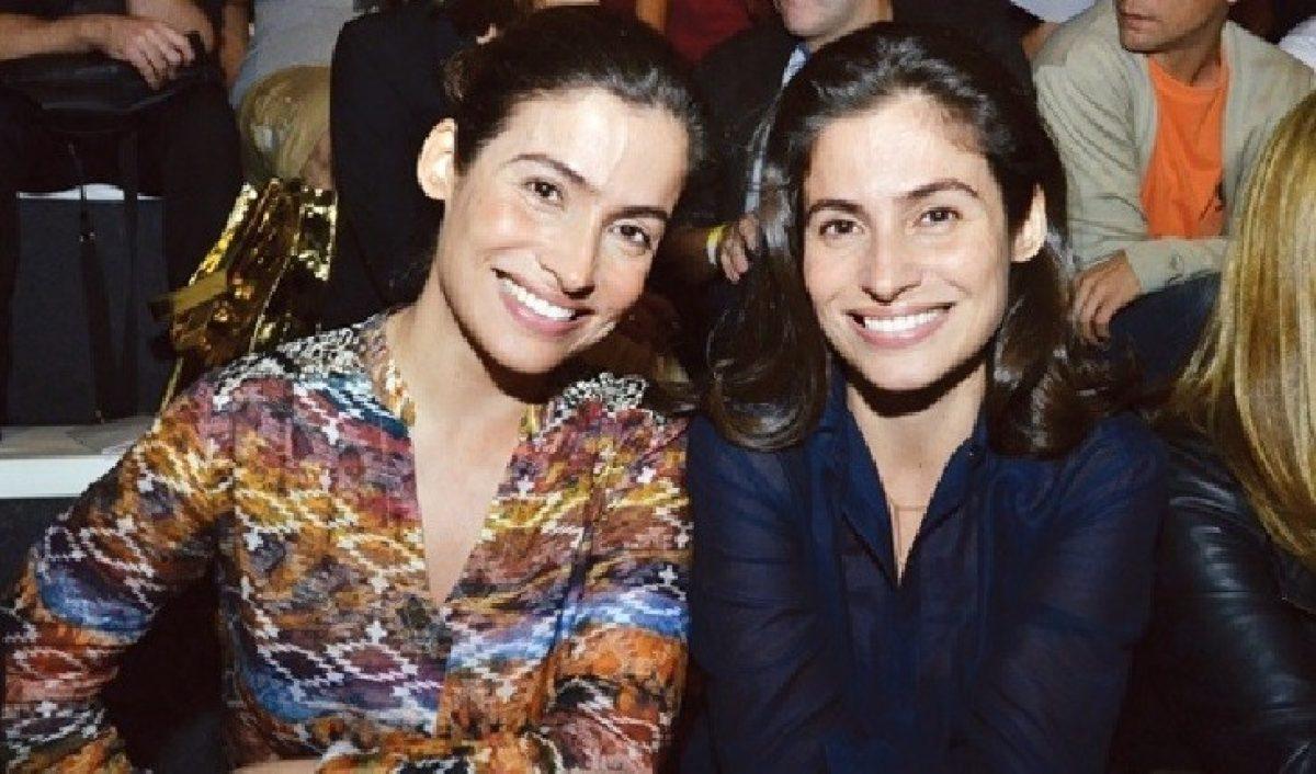 Renata Vasconcellos e a irmã - Foto: Reprodução