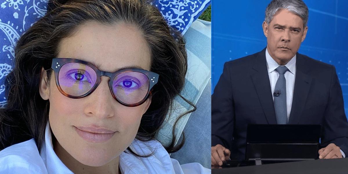 Renata Vasconcellos e William Bonner vivem perigo por seus trabalhos (Foto: Reprodução/Instagram/TV Globo)