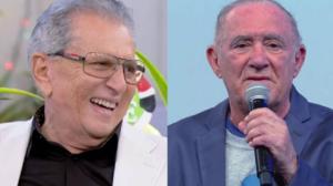 Renato Aragão diz querer trabalhar ao lado de Carlos Alberto de Nóbrega (Foto: Reprodução)