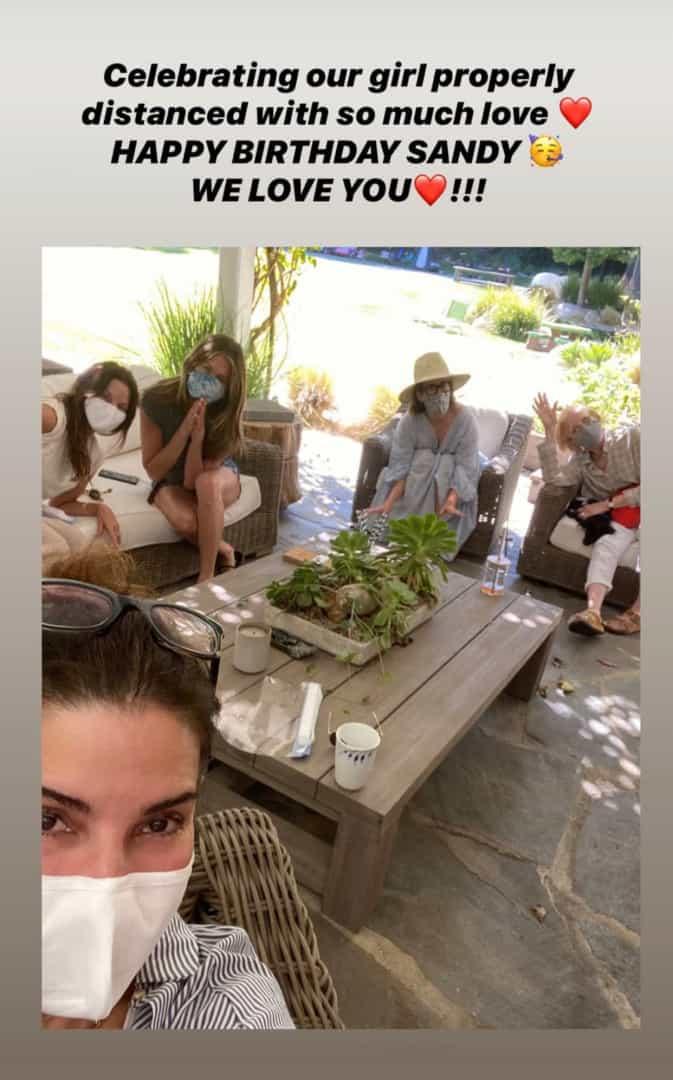 Foto compartilhada por Jennifer Aniston (Foto: Reprodução)