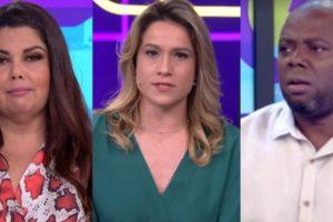 Fabiana Karla, Fernanda Gentil e Érico Brás no comando do Se Joga (Foto: Reprodução/Globo)