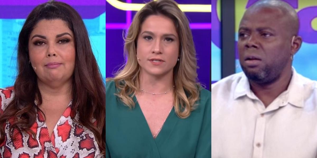 Fabiana Karla, Fernanda Gentil e Érico Brás no comando do Se Joga; programa deve voltar ao ar (Foto: Reprodução/Globo)
