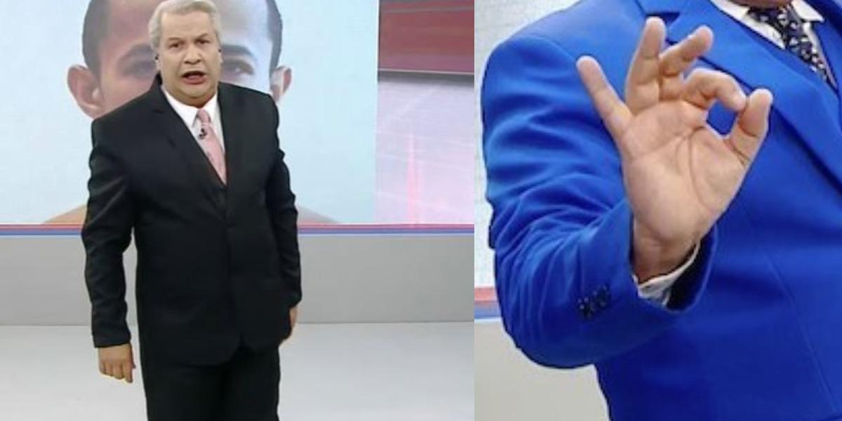 Sikêra Jr se envolveu em polêmica (Foto: Reprodução/RedeTV!)