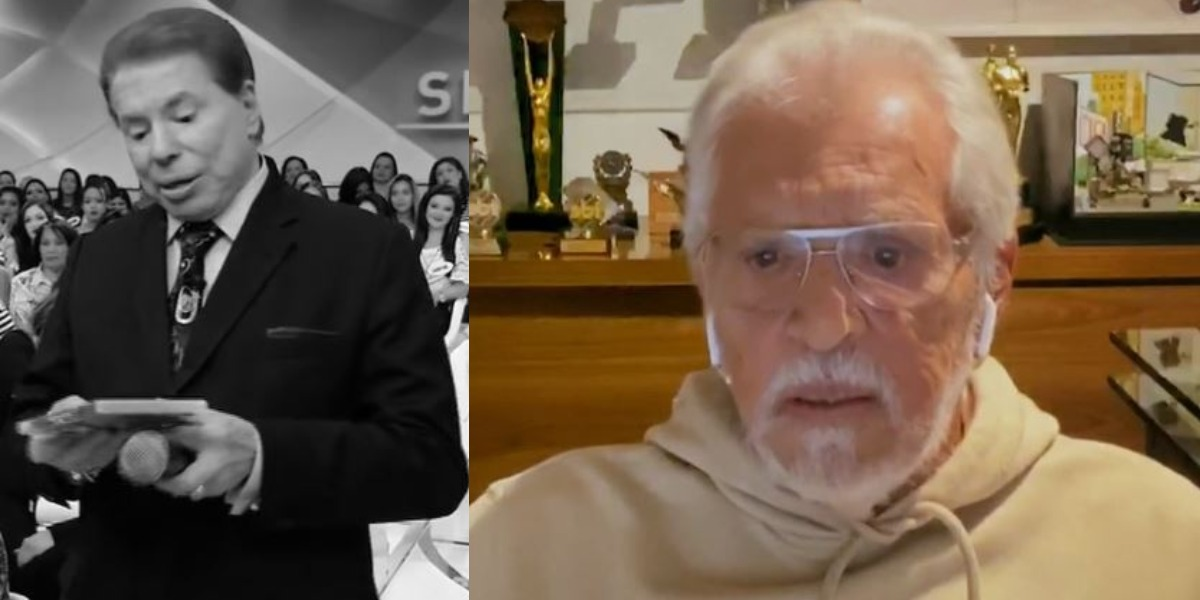 Carlos Alberto de Nóbrega é funcionário de Silvio Santos (Foto: Reprodução/SBT/TV Globo)