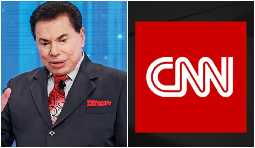 CNN Brasil voltou a atacar o SBT de Silvio Santos - Foto: Montagem