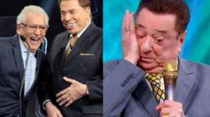 Silvio Santos, Rau Gil e Carlos Alberto estariam escalados para transmissão do SBT - Foto: Reprodução