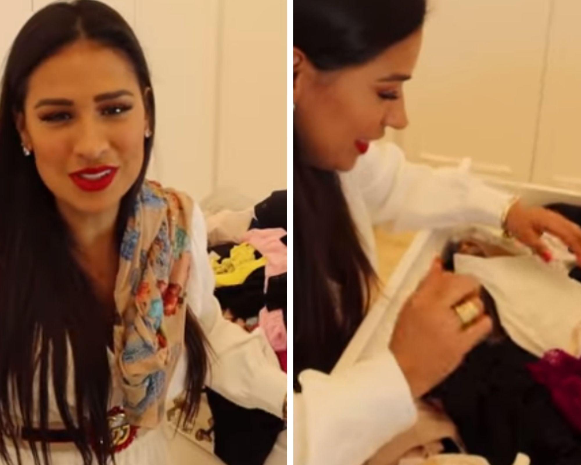 Simone exibiu uma gaveta recheada de calcinhas (Foto: Reprodução)