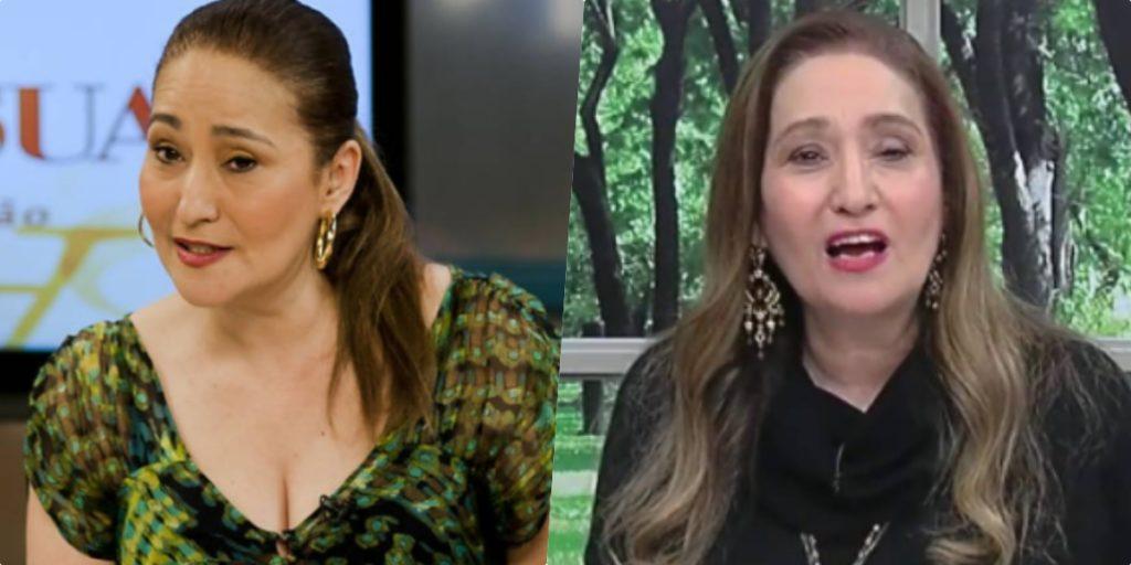 Sonia Abrão expõe situação ao vivo e detona atriz da Globo (Foto montagem)