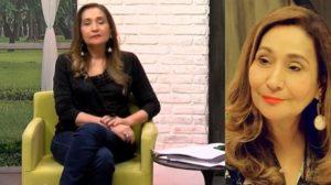 Sonia Abrão recebeu pedido de beijo de Dudu Camargo (Foto: Reprodução/RedeTV!)