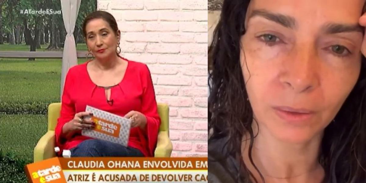 Sonia Abrão detonou Claudia Ohana (Foto: Reprodução/RedeTV!/Instagram)