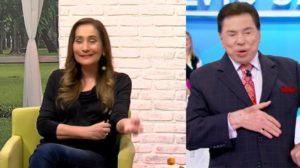 Sonia Abrão foi assistida por Silvio Santos (Foto: Reprodução/RedeTV!/SBT)