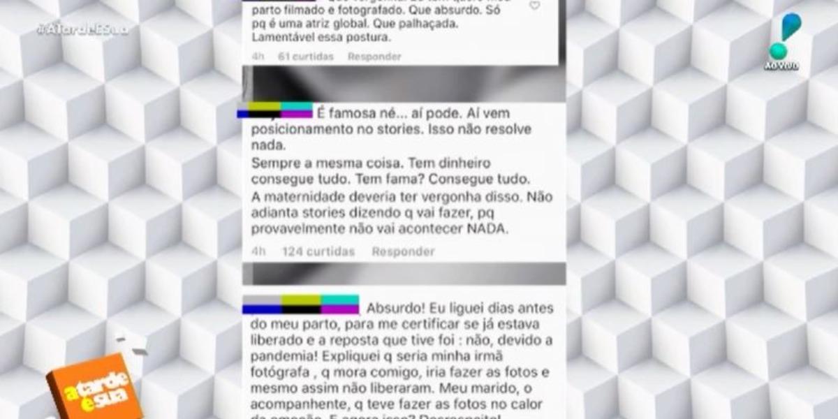 Sonia Abrão mostrou revolta do público contra famosos (Foto: Reprodução/RedeTV!)