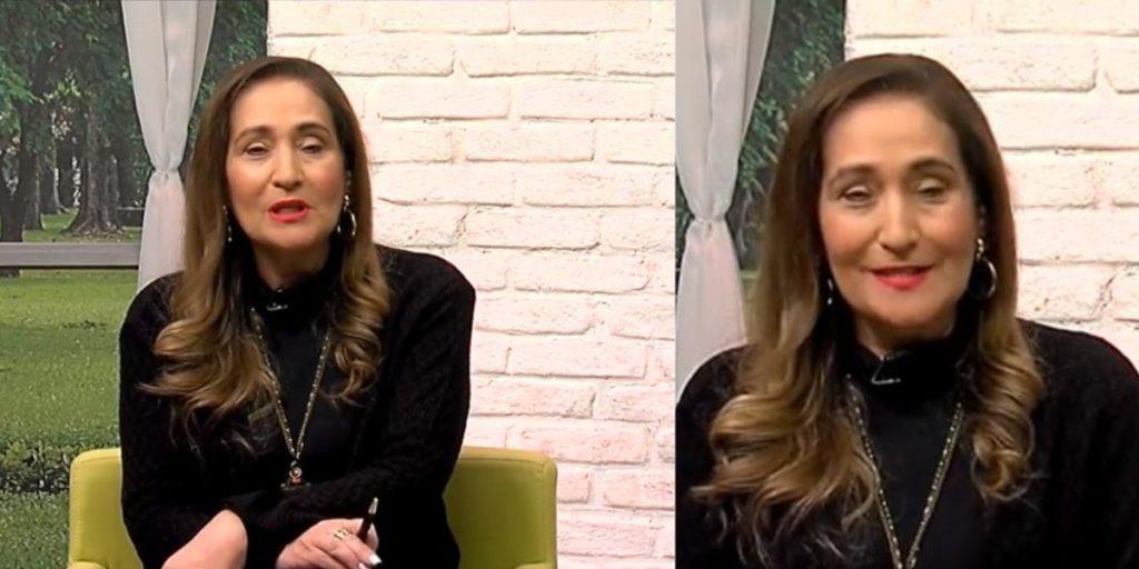 Sonia Abrão se despediu do cenário do A Tarde é Sua (Foto: