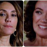 Fotomontagem de Tereza Cristina e Griselda em Fina Estampa