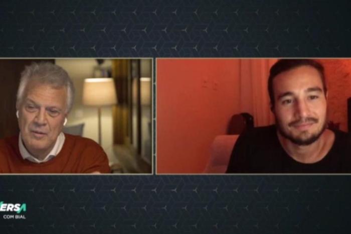 Em conversa com Bial, Tiago Iorc fala sobre seu afastamento (Foto: Reprodução)