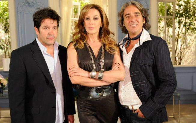 Murilo Benício, Claudia Raia e Alexandre Borgs em Tititi, da Globo - Foto: Reprodução