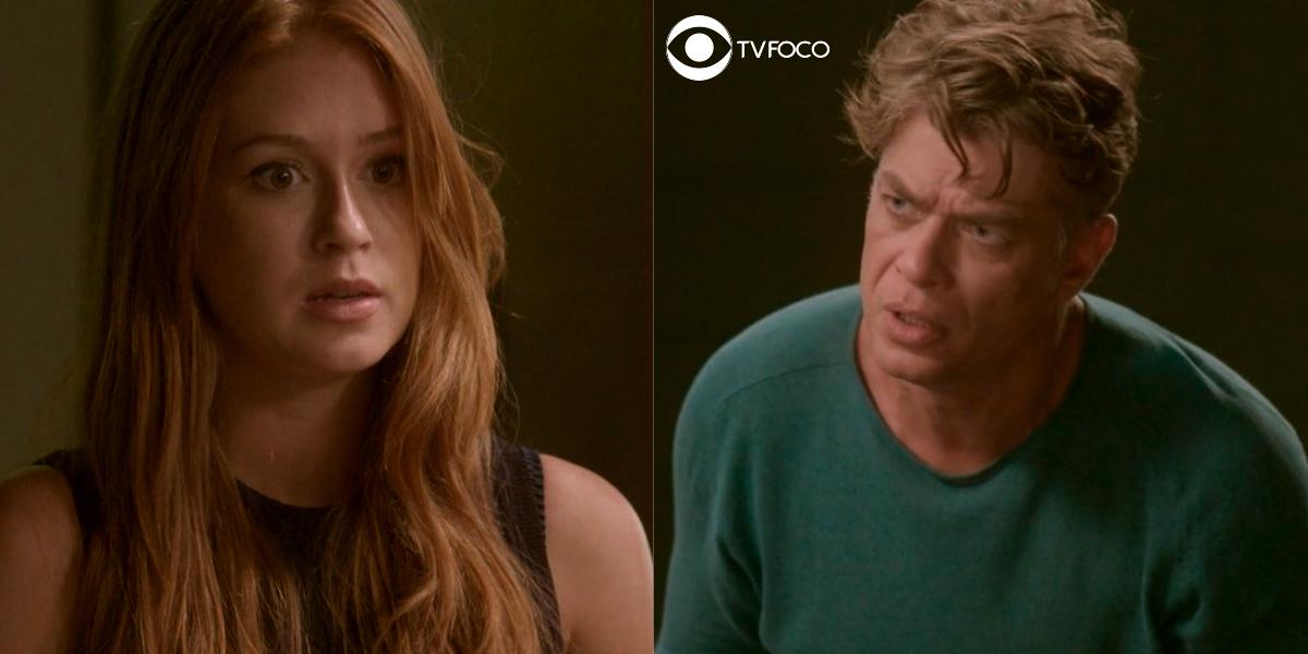 Eliza (Marina Ruy Barbosa) abandonará Arthur (Fábio Assunção) após descobrir aposta em Totalmente Demais (Foto: Reprodução/Globo/Montagem/TV Foco)