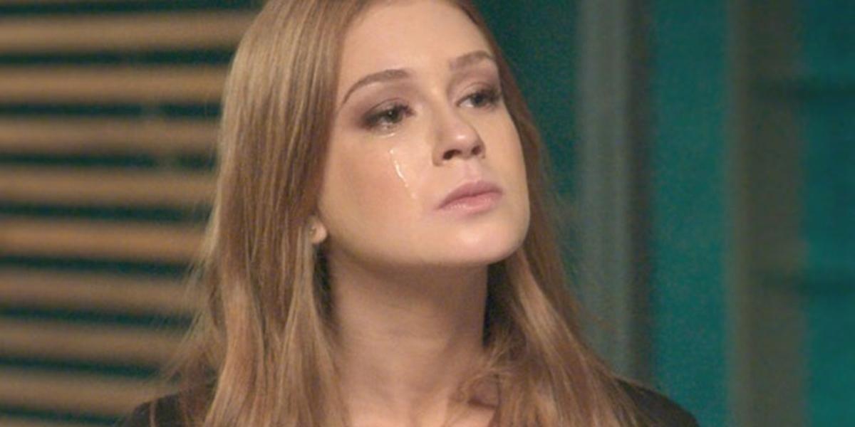 Eliza (Marina Ruy Barbosa) ficará arrasada com segredo de Arthur (Fábio Assunção) em Totalmente Demais (Foto: Reprodução/Globo)