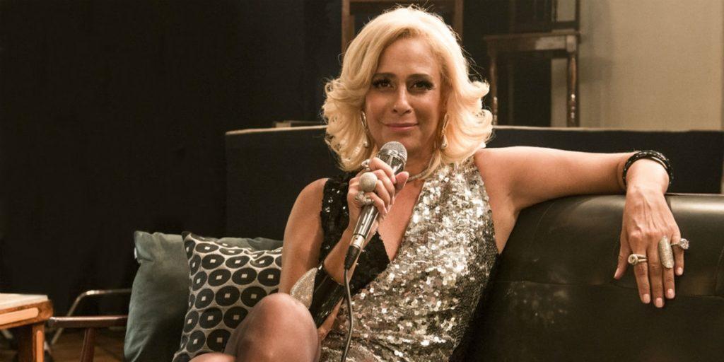 Andrea Beltrão interpretou Hebe em minissérie da Globo. (Foto: Divulgação)