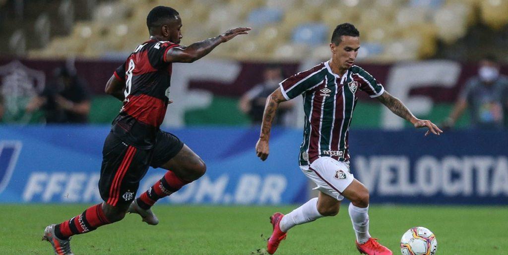 Transmissão de Fluminense e Flamengo foi a maior da história do YouTube. (Foto: Divulgação)