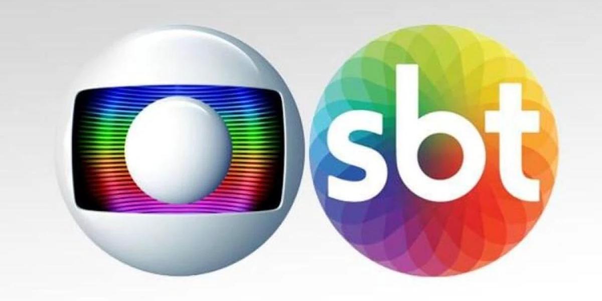 Globo arma estratégia contra o SBT (Foto: Montagem)