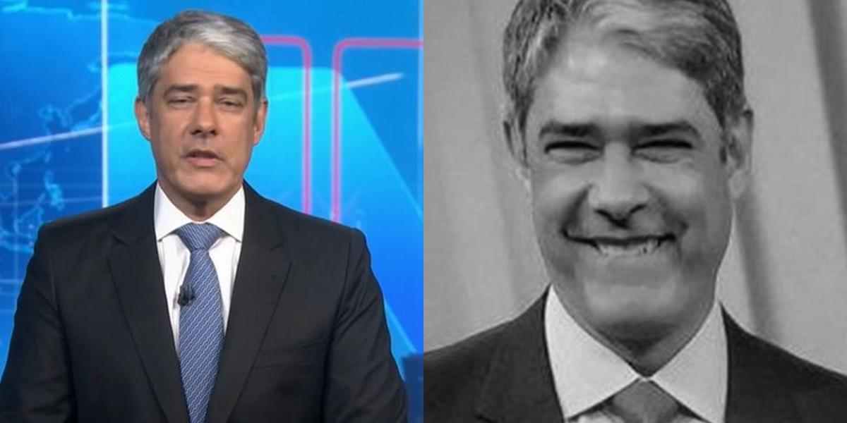William Bonner debochou no Jornal Nacional (Foto: Reprodução/TV Globo)