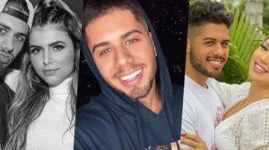 Zé Felipe está tendo sua ex e atual comparadas nas redes sociais (Foto montagem: TV Foco)