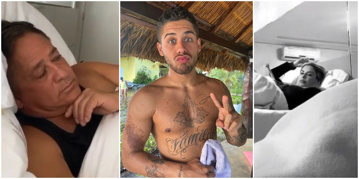 O cantor Zé Felipe disse ter atrapalhado noite de sexo dos pais Poliana Rocha e Leonardo (Reprodução)
