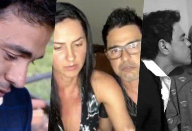Zezé di Camargo falou sobre o estado de saúde do pai (Foto montagem: TV Foco)