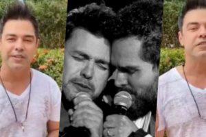 Zezé falou sobre a live com seu irmão (Foto montagem: TV Foco)