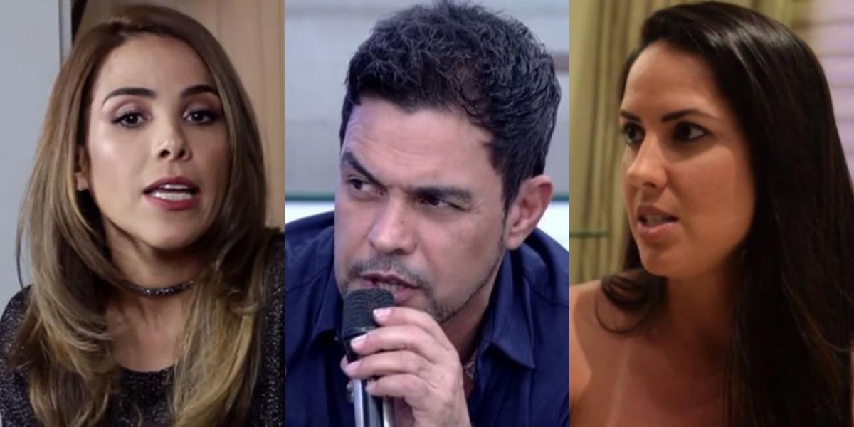 Zezé separou briga de Wanessa e Graciele Lacerda (Foto: Reprodução/TV Globo/Instagram)