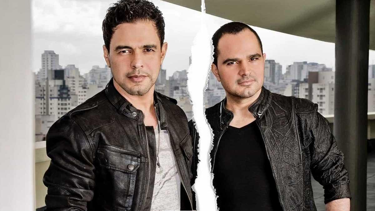 Zezé di Camargo e Luciano estariam se separando (Foto: Reprodução)