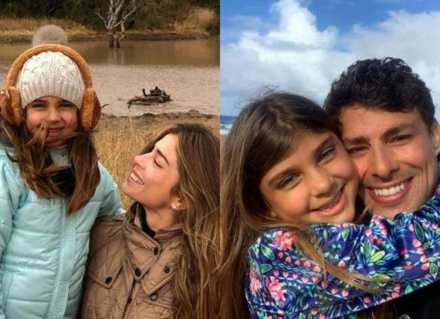 Filha de Grazi Massafera e Cauã Reymond vai ser atriz (Foto: Reprodução/ Montagem)