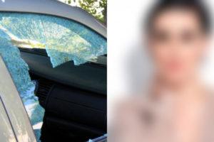 Atriz tem carro arrombado e pertences roubados (Foto: Reprodução)