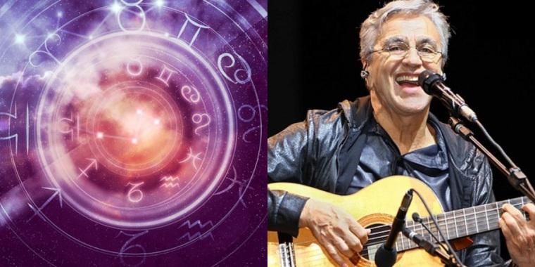 A sexta-feira é marcada pelo aniversário do cantor Caetano Veloso, músico que é do signo de Leão (Foto: Reprodução)