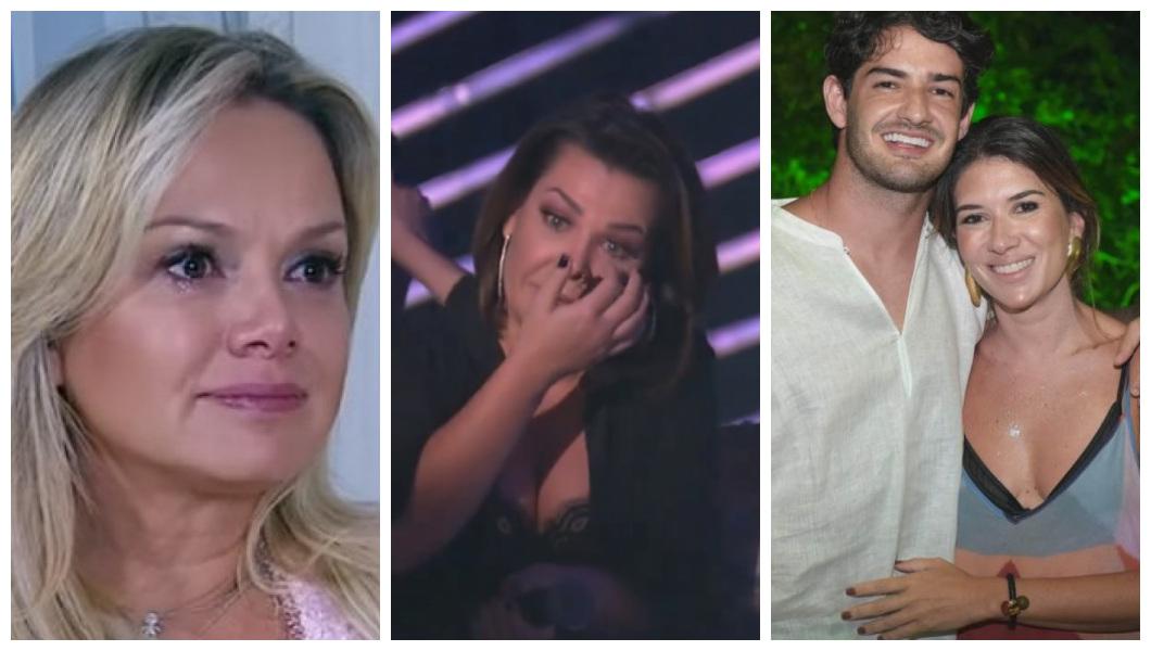Videntes falam Eliana, Fernanda Souza, Pato e Rebeca Abravanel (Foto: Reprodução)