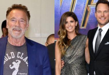 Nasce primeiro filho de Katherine, filha de Arnold Schwarzenegger (Foto: Reprodução)