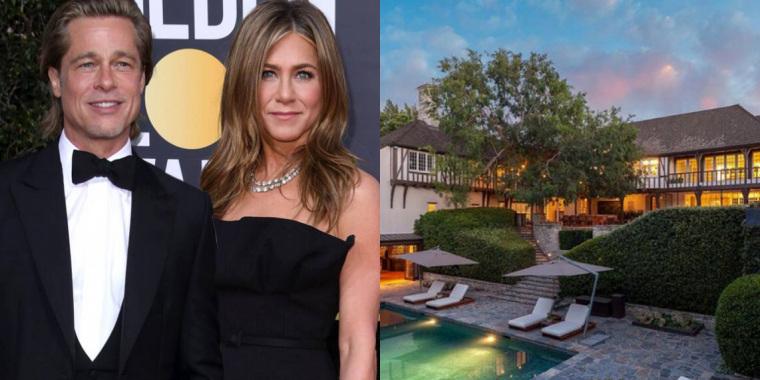 Mansão onde Brad Pitt e Jennifer Aniston viveram é vendida (Foto: Reprodução)