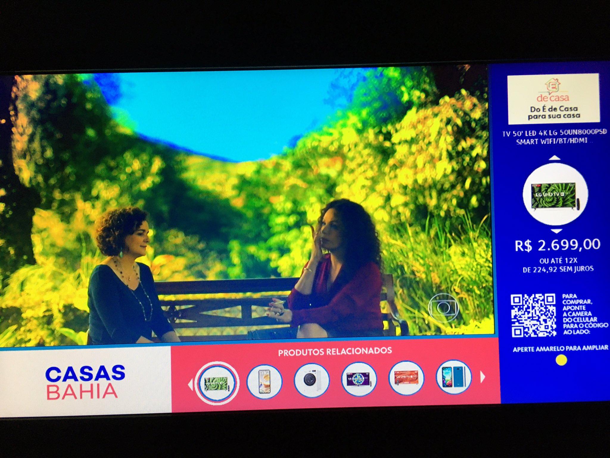 Casas Bahia anunciará ofertas em ferramenta interativa do É de Casa (foto: Reprodução/TV Globo)